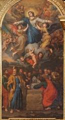 Eglise paroissiale Notre-Dame-des-Anges - Français:   L\'Assomption par Reynaud Levieux (1680), Collégiale de l\'Isle sur la Sorgue