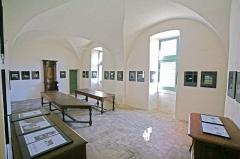 Ancienne abbaye Saint-Hilaire -  La salle capitulaire de l'abbaye Saint-Hilaire de Ménerbes, France