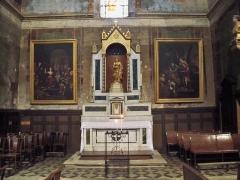 Eglise Notre-Dame-de-Nazareth (ancienne cathédrale) - Français:   Chapelle latérale de Notre Dame de Nazareth à Orange, Vaucluse, France