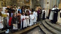 Eglise Notre-Dame-de-Nazareth (ancienne cathédrale) - Français:   Chorale des enfants lors de la veillée de Noël dans la cathédrale d\'Orange