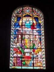 Eglise Notre-Dame-de-Nazareth (ancienne cathédrale) - Français:   Vitrail de la cathédrale Notre Dame de Nazareth à Orange, Vaucluse, France