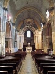 Eglise Notre-Dame-de-Nazareth (ancienne cathédrale) - Français:   Nef de la cathédrale Notre Dame de Nazareth à Orange, Vaucluse, France