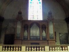 Eglise Notre-Dame-de-Nazareth (ancienne cathédrale) - Orgue de Notre Dame de Nazareth à Orange, Vaucluse, France