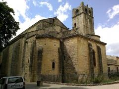 Ancienne cathédrale et cloître -  Vaucluse Vaison-La-Romaine Cathedrale Notre-Dame Nazareth Chevet