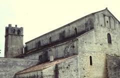 Ancienne cathédrale et cloître -  Vaucluse Vaison-La-Romaine Cathedrale Notre-Dame-De-Nazareth Cote Nord