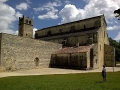 Ancienne cathédrale et cloître -  Vaucluse Vaison-La-Romaine Cathedrale Notre-Dame-Nazareth Cloitre Exterieur