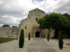 Ancienne cathédrale et cloître -  Vaucluse Vaison-La-Romaine Cathedrale Notre-Dame-Nazareth Facade Ouest
