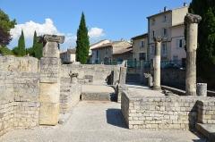Site archéologique de la Villasse -  Vasio Vocontiorum, Vaison-la-Romaine