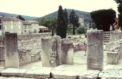 Site archéologique de la Villasse -  Vaucluse Vaison-La-Romaine La Villasse Allee Centrale Mercure