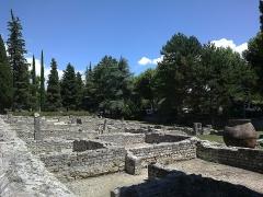Site archéologique de la Villasse -  Vaucluse Vaison-La-Romaine Ruines Romaines Maison Rapport