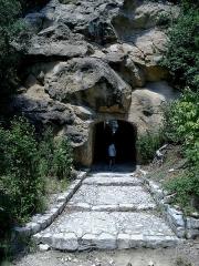 Site archéologique de la Villasse -  Vaucluse Vaison-La-Romaine Ruines Romaines Vers Theatre Passage Souterrain