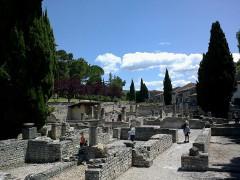Terrains de fouilles gallo-romaines de la colline du Puymin (ensemble) -  Vaucluse Vaison-La-Romaine Ruines Romaines Maison Messii