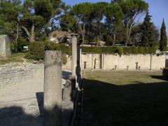 Terrains de fouilles gallo-romaines de la colline du Puymin (ensemble) -  Vaison Roman ruins