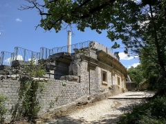 Théâtre romain -  Vaucluse Vaison-La-Romaine Ruines Romaines Theatre Acces Sud 08072014