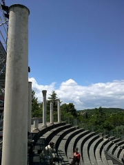 Théâtre romain -  Vaucluse Vaison-La-Romaine Ruines Romaines Theatre Portique Gradins