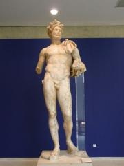 Théâtre romain -  Statue of Emperor Hadrian in Vaison-la-Romaine