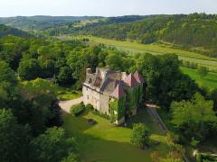 Château de la Faye - Français:   Vue aérienne côté Sud