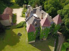 Château de la Faye - Français:   Vue aérienne côté Est