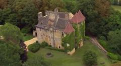 Château de la Faye - Français:   Vue aérienne