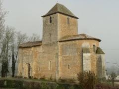 Eglise Notre-Dame de l'Assomption - English:   church of Bourg-du-Bost, Dordogne, SW France