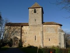 Eglise Notre-Dame de l'Assomption - Français:   église de Bourg-du-Bost, Dordogne, France