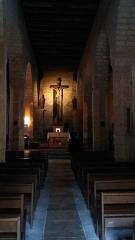 Eglise Saint-Martin de Tayac - Français:   La nef de l\'église des Eyzies de Tayac.