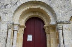 Eglise de la Chapelle-Saint-Robert - Deutsch:   Romanische Kirche St Robert, La Chapelle Saint Robert, Javerlhac, Dordogne