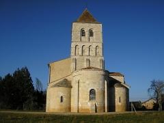 Eglise de la Chapelle-Saint-Robert - Français:   Église romane de La Chapelle Saint Robert
