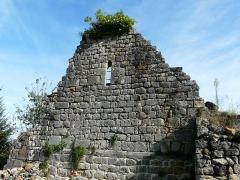 Ruines de l'ancienne chapelle de Fontroubade, appelée église Notre-Dame puis Sainte-Radegonde - Français:   Ruines de la chapelle de Fontroubade, Lussas-et-Nontronneau, Dordogne, France.