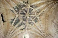 Château de Mareuil - Français:   Plafond de la chapelle du château de Mareuil, Dordogne.
