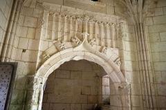 Château de Mareuil - Français:   Chapelle du château de Mareuil, Dordogne.