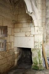 Château de Mareuil - Français:   La cheminée de la chapelle du château de Mareuil, Dordogne.