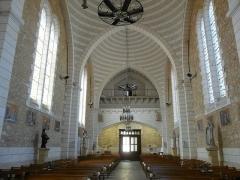 Eglise Saint-Pierre-ès-Liens - Français:   Nef de l\'église Saint-Pierre-ès-Liens de Montignac vue de l\'ouest, Dordogne, France.