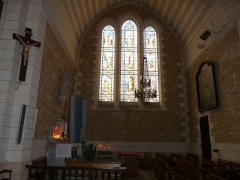 Eglise Saint-Pierre-ès-Liens - Français:   Le transept ouest de l\'église Saint-Pierre-ès-Liens de Montignac vue de l\'ouest, Dordogne, France.