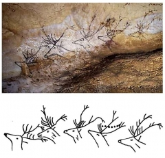 Grotte de Lascaux - English:   The fourth of these \