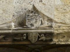 Cathédrale Saint-Front - Côté place de la Clautre, détail d'une niche de la cathédrale Saint-Front de Périgueux, Dordogne, France.