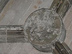 Couvent de Sainte-Marthe - Français:   Clé de voûte représentant le lion de saint Marc, chapelle Saint-Jean-Baptiste, Périgueux, Dordogne, France.