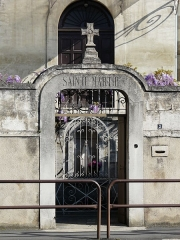 Couvent de Sainte-Marthe - Français:   Le portail du couvent Sainte-Marthe, Périgueux, Dordogne, France.