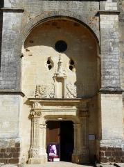 Eglise Saint-Germain de Rouffignac - Français:   Le portail Renaissance de l\'église Saint-Germain de Paris, Rouffignac-Saint-Cernin-de-Reilhac, Dordogne, France.
