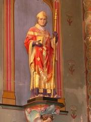 Eglise Saint-Germain de Rouffignac - Français:   Statue de saint Germain de Paris, église Saint-Germain de Paris, Rouffignac-Saint-Cernin-de-Reilhac, Dordogne, France.