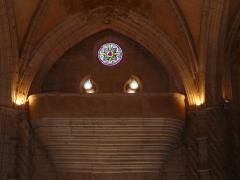 Eglise Saint-Germain de Rouffignac - Français:   La tribune de l\'église Saint-Germain de Paris, Rouffignac-Saint-Cernin-de-Reilhac, Dordogne, France.