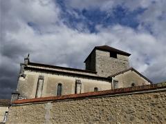 Eglise Sainte-Eulalie - Français:   L\'église de Saint-Aulaye, Saint Aulaye-Puymangou, Dordogne, France.