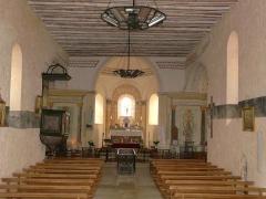 Eglise Saint-Ours - Français:   La nef de l\'église Saint-Ours, Sainte-Orse, Dordogne, France