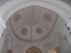 Eglise Saint-Ours - Français:   Le plafond du chœur de l\'église Saint-Ours, Sainte-Orse, Dordogne, France