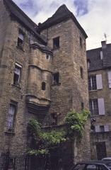 Immeuble -  L'hôtel de Vassal, place du Marché-aux-Oies à Sarlat-la-Caneda (Dordogne).