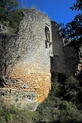 """Gisement préhistorique de la Madeleine - Deutsch: Archäologischer Fundplatz """"La Madeleine"""" in Frankreich: Donjon von Petit Marzac"""