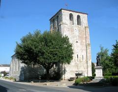 Eglise Saint-Martin -  Clocher Vélines
