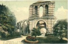 Restes de l'amphithéatre dit Palais Gallien - English: Ruines du palais Gallien
