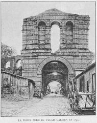 Restes de l'amphithéatre dit Palais Gallien - English: Palais Gallien