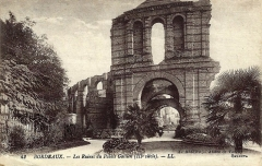 Restes de l'amphithéatre dit Palais Gallien - Bordeaux-les-ruines-du-Palais-Gallien